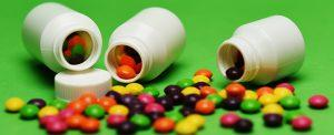 tabletki w buteleczkach