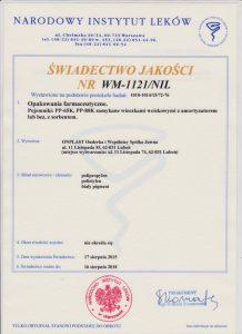 swiad-jakosci-wm-1121-nil-kolor