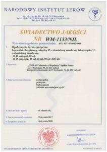 świad. jakości WM 1133 NIL kolor 212x300 - Certificates